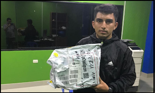 Mr. Elmer lives in Peru,bought 4 Spectra Polaris 512 15pl printheads