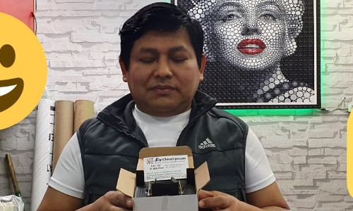 Peru Clinser Livia comprio repuestos de plotters