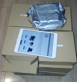 packaging of seiko print head