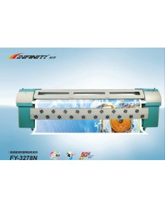 Infiniti Solvent Inkjet Printer FY-3278N 3.2meters with 4 pieces Seiko spt510 50PL Printheads