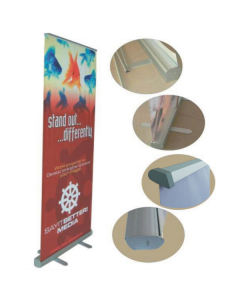 50 pieces of Aluminum Roll Up Stand with sea freight to your country