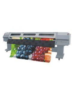 Zhongye Large Format Inkjet printer 3.2meter with 4 Spectra Polaris 512 35pl Printheads