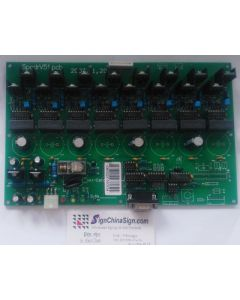 High voltage board Witcolor Ultra4000 18Ω SPCDR51 40600201
