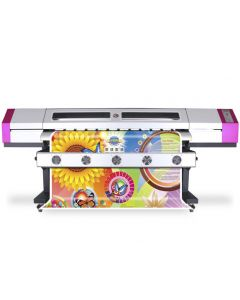 Galaxy Eco-Solvent Printer UD-1612LC 1.6meter with 2 DX5 Printheads