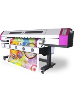 Galaxy Eco Solvent Printer UD-2112LC 2.1meter with 2 DX5 Printheads