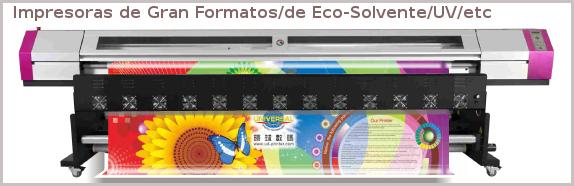 Plotter ,gran formato,impresora base eco-solvent y uv