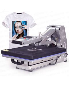 T-shirt printing heat press machine 40*50cm with hydraulic pressure