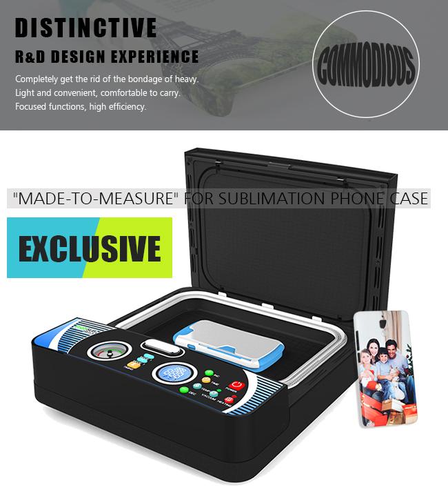 sublimadora Freesub Mini 3d sublimation vacuum machine for phone case  printing machine ST-2030