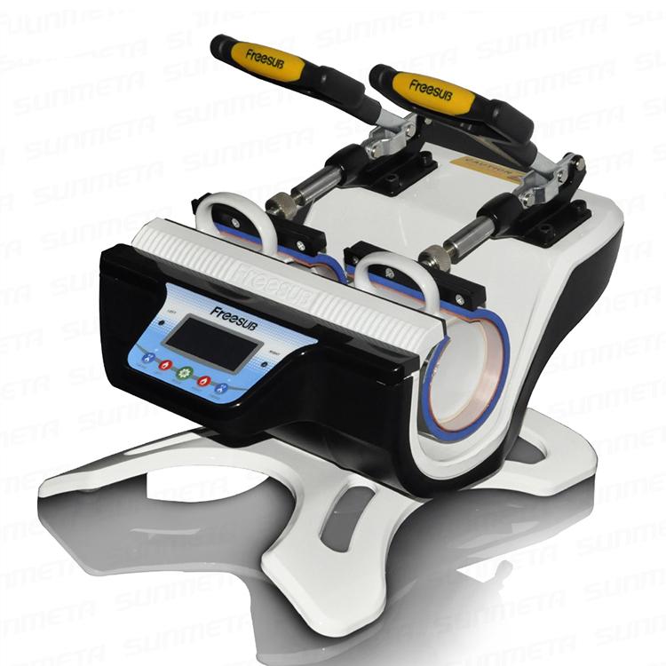 Double-station Mug Press Machine For doing Mugs