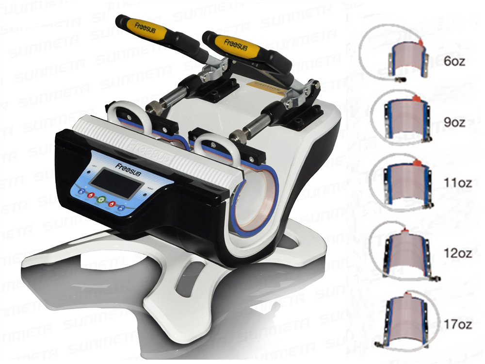 Freesub 5 in 1 Mug Heat Press Machine ST-210-5