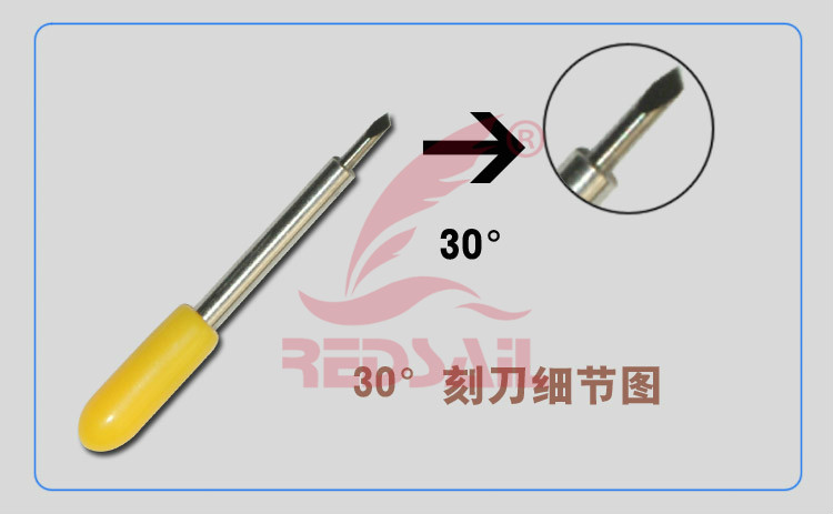 Blade for cutting plotter vinyl cutter knife of cutting plotter
