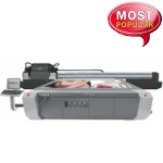Impressora UV 2.5metros Zhongye com Cabeça Polaris PQ-512/15 AAA